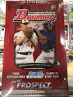 2013 Bowman Jumbo Baseball Hobby Box 12 Packs 3 Bowman Chrome Autos Per Box !