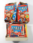 Lot of (3) 1987 Zoot U.S. of ALF Super Sticker 1st Series Pack Boxes ^ Damaged