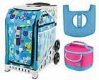 Zuca Sport Bag Be Zappy with Lunchbox and Seat Cover White