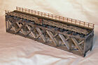 86 HOWE TRUSS DECK BRIDGE S On30 Model Railroad Structure Craftsman Kit HL109S