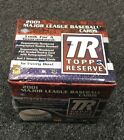 2001 Topps Reserve Sealed Unopened Factory Hobby Box