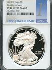 2018 W Silver Eagle First Day Of Issue NGC PF70 Ultra Cameo  IN STOCK