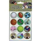Sport 1 Gel Stickers For Paracord Charms  Buckles 12 Pkg