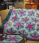 PALM STAR VINTAGE QUILT PATTERN CHRISTMAS PAPER FOUNDATION PIECING STUNNING
