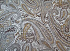 Fabric Richloom Upholstery Drapery Fenmore Earth Paisley Jacquard Tapestry EE301