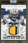 2016 Honors 2014 National Treasures Greats Eddie Lacy Patch AUTO 1 1