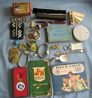 JUNK DRAWER LOT MOSTLY LADYS STUFF WATCHES PINS PENS SAVINGS STAMPS MORE
