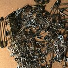 Safety Pin Lot over 175 assorted sizes brass nickel Free Shipping