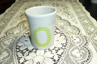 HOMER LAUGHLIN FIESTAWARE RETIRED GRAY 2000 MILLENN WITH CHARTREUSE