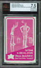 1972-73 TOPPS # 250 RICK BARRY AS RED PROOF BGS 7.5 SOLO FINEST GRADED UNIQUE
