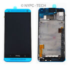 NEW For HTC One M7 LCD Display Assembly Touch Screen Digitizer + FRAME Blue US