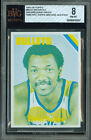 1975-76 TOPPS # 60 ELVIN HAYES PROOF BGS 8.5 SOLO FINEST UNIQUE 6697 *