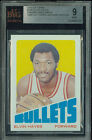 1972-73 TOPPS # 150 ELVIN HAYES PROOF BGS 9 SOLO FINEST GRADED UNIQUE