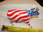 COW PARADE FIGURINE PORCELAIN DECORATIVE COLLECTIBLE FARM COW AMERICAN ROYAL
