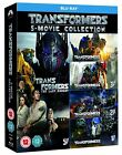 TRANSFORMERS 1 5 5 Movie Collection Blu Ray Set BRAND NEW Free Ship 1 2 3 4 5