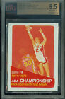 1972-73 TOPPS # 244 RICK BARRY GAME-4 PROOF BGS 9.5 SOLO FINEST GRADED UNIQUE