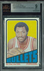 1972-73 TOPPS # 150 ELVIN HAYES PROOF BGS 9 SOLO FINEST GRADED UNIQUE 0154