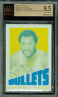 1972-73 TOPPS # 150 ELVIN HAYES PROOF BGS 9.5 SOLO FINEST GRADED UNIQUE 0155 .