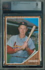1962 TOPPS # 575 RED SCHOENDIENST SP PROOF BGS 9 FINEST REGISTRY