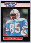 1989  DREW HILL - Kenner Starting Lineup Card - SLU - HOUSTON OILERS