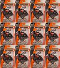 MATCHBOX 78 BMW R1200 RTV Motorcycle NOTARZT EMS 2017 issue  LOT of 12x