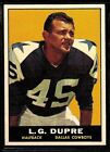 1961 Topps Football Cards 12