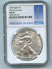 2018 Silver Eagle Dollar NGC MS70 Coin 1st Day Issue Label ASE FDI  C52
