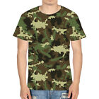 Mens Military Camouflage Camo T-shrt Army Combat Summer Tee Personalized Gifts