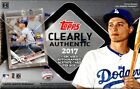 2017 TOPPS CLEARLY AUTHENTIC BASEBALL HOBBY 20 BOX CASE