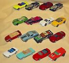 FORD MUSTANG LOT 16 MATCHBOX SUPERFAST MAISTO HOT WHEELS POLAR LIGHTS LOOSE CARS