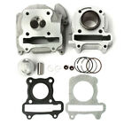 477mm Bore 50cc 60cc 80cc GY6 QMB139 Cylinder Head Piston Rings Kit Fit Scooter
