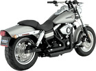 Vance  Hines Shortshots Staggered Exhaust Harley 06 11 Dyna Black