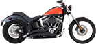 Vance  Hines Big Radius Exhaust Harley 86 17 Softail Black
