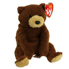 TY Beanie Baby - BIXBY the Bear (8 inch) - MWMTs Stuffed Animal Toy