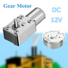 12v Dc Motor High Torque Reduction Worm Reversible Turbo Geared- Strong Powerful