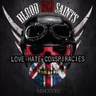 BLOOD RED SAINTS Love Hate Conspiracies CD NEW & SEALED 2018 Melodic Hard Rock