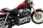 Black Shot Gun Drag Pipes Exhaust System Harley 2007 2013 Sportster 883 1200