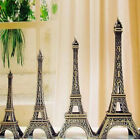 Vintage Mini Statue Figurine Eiffel Tower Model Home Office Decoration Gift New