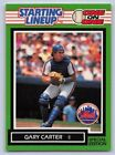 1989   GARY CARTER - Kenner Starting Lineup Card - NEW YORK METS
