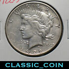 1922 S SILVER PEACE DOLLAR 1 FINE DETAILS TOUGHER DATEFREE S H