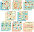 Graphic45 PRECIOUS MEMORIES COLLECTION SET OF ALL 8 12x12 Dbl Sided Papers