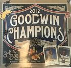 2012 Goodwin Champions Sealed Hobby Box 3 Hits Rare Jordan Memorabilia Cards