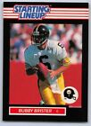 1989  BUBBY BRISTER - Kenner Starting Lineup Card - PITTSBURGH STEELERS