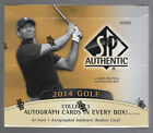 2014 UD SP Authentic Golf Sealed Hobby Box! Rory Nicklaus Palmer Jordan Auto?!?