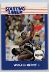 1988   WALTER BERRY - Kenner Starting Lineup Card - SLU - SAN ANTONIO SPURS
