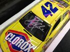 Kyle Larson #42 ROOKIE 2014 Autographed Signed 1/24 Clorox / Target Car with COA