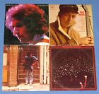 BOB DYLAN AT BUDOKAN+ BEFORE THE BLOOD+ STREET LEGAL+ SELF TITLED 4 ALBUMS