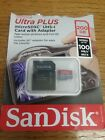SanDisk Ultra Plus 200GB Micro SD Card with Adapter NIB