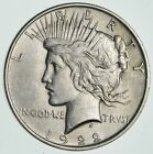 Early 1922 Peace Silver Dollar 90 Silver US Coin 162