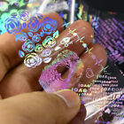 Lace Holo Starry Nail Foil Heart Flower Paisley Dot Nail Art Transfer Stickers